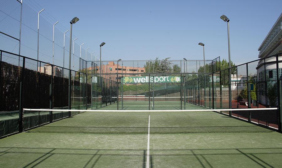 Pádel Madrid Wellsport 2