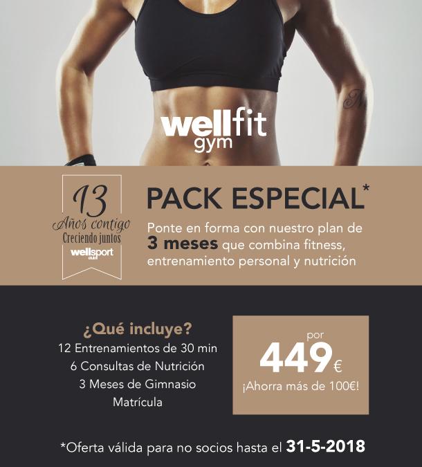 Pack especial nutrición